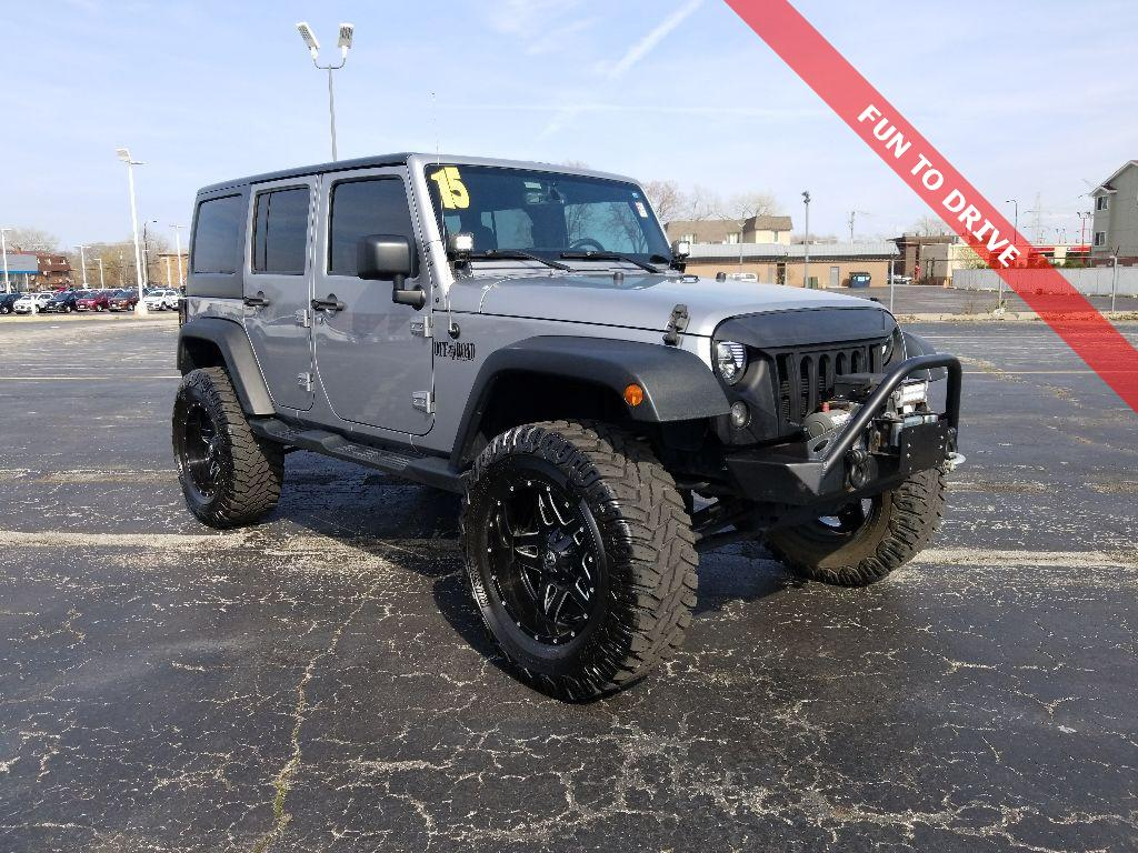 Pre Owned 2015 Jeep Wrangler Unlimited Sport 4wd 4dr In Forest Park