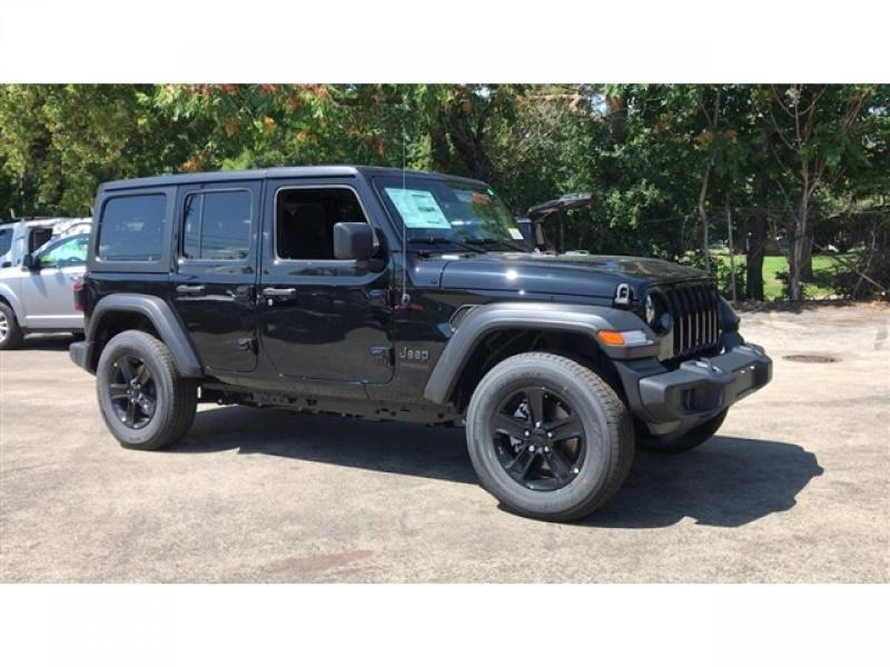 Jeep Wrangler Rims And Tire Packages >> New 2020 Jeep Wrangler Unlimited Sport Altitude 4x4