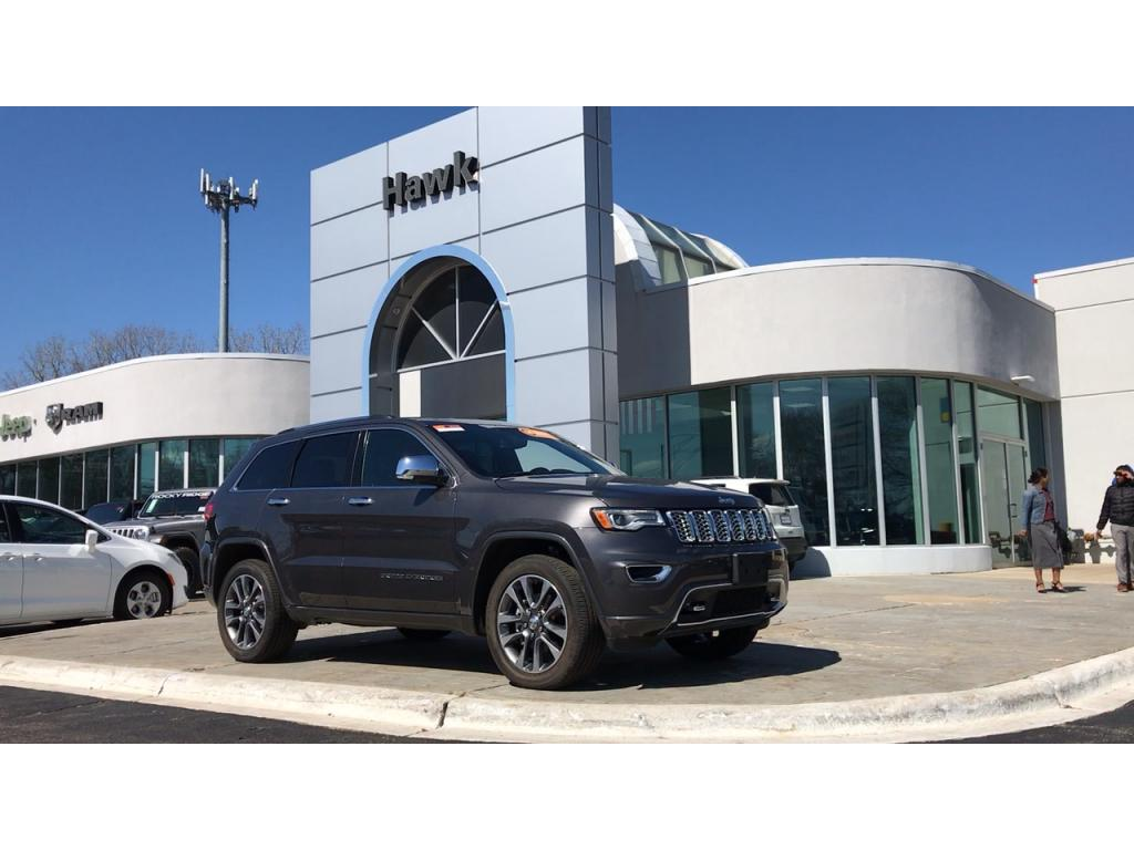 Certified Pre-Owned 2018 Jeep Grand Cherokee Overland 4WD