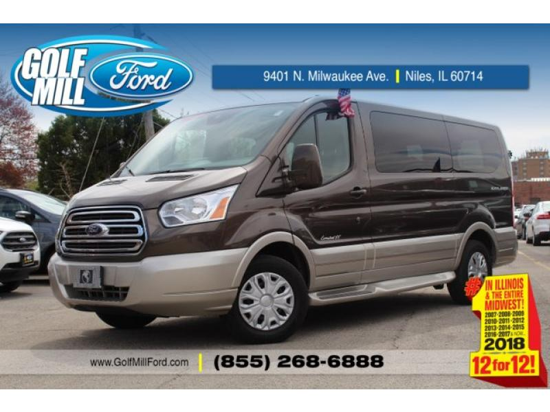 Pre Owned 2017 Ford Transit Wagon T 150 Low Roof 60 40 T150