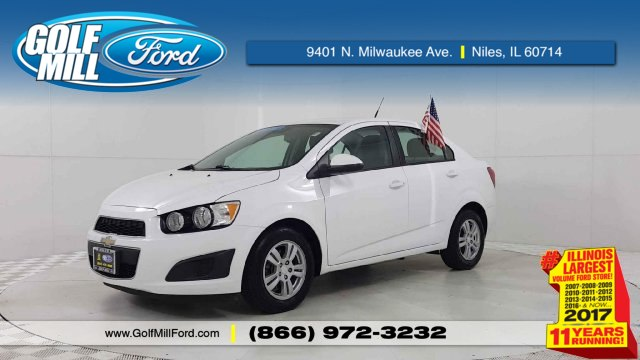 Pre Owned 2012 Chevrolet Sonic 2ls Sedan In Forest Park 181311a