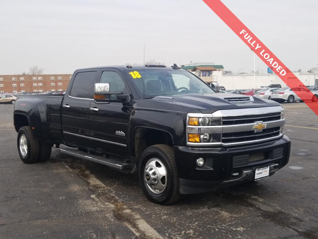 Pre-Owned 2018 Chevrolet Silverado 3500 High Country