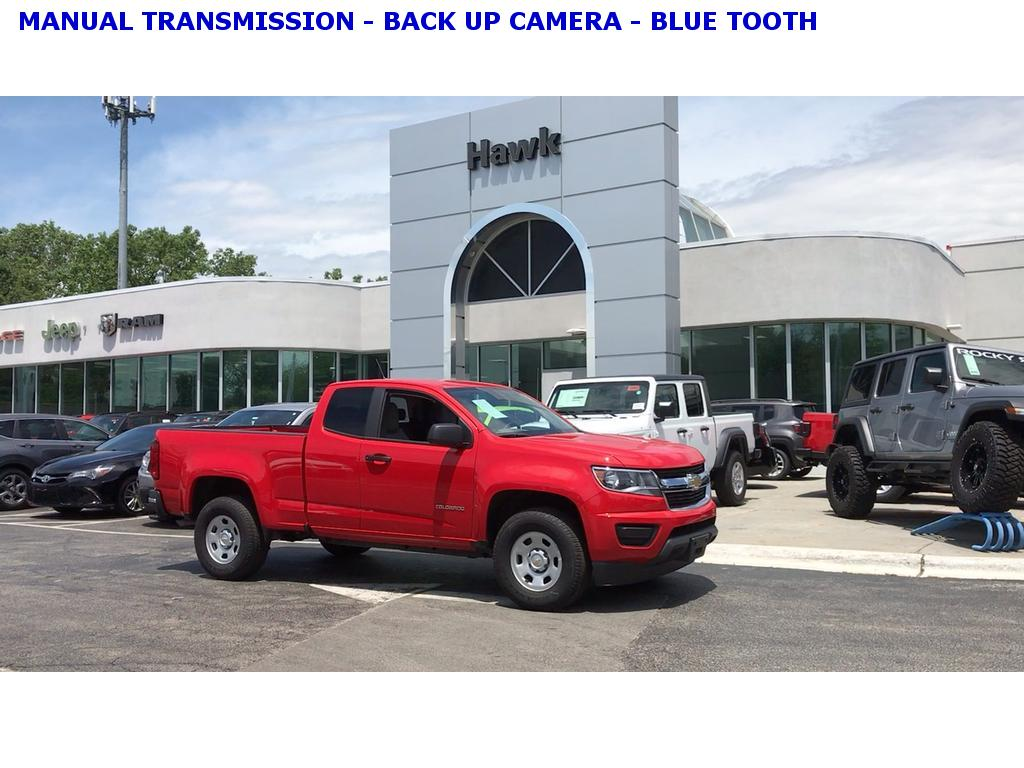 PRE-OWNED 2019 CHEVROLET COLORADO 2WD MANUAL WORK TRUCK RWD EXT CAB 128 3