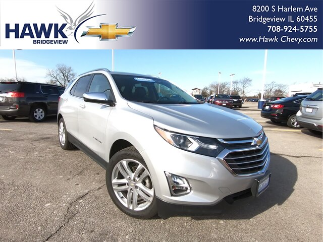 Pre-Owned 2019 Chevrolet Equinox Premier w/2LZ