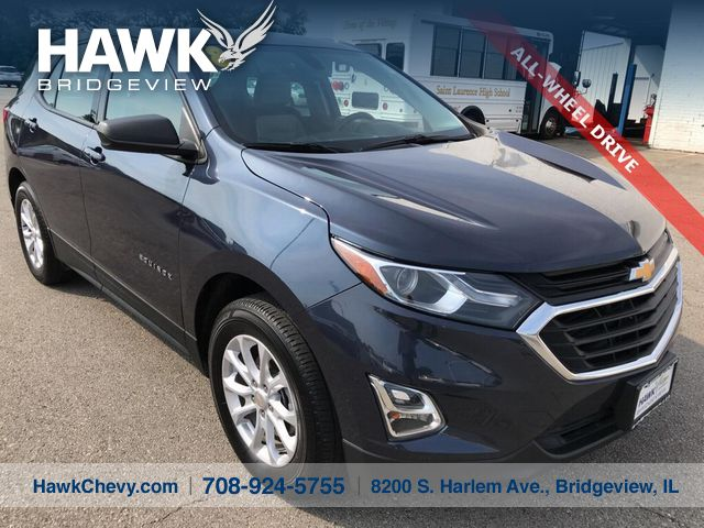 Pre-Owned 2018 Chevrolet Equinox AWD LS