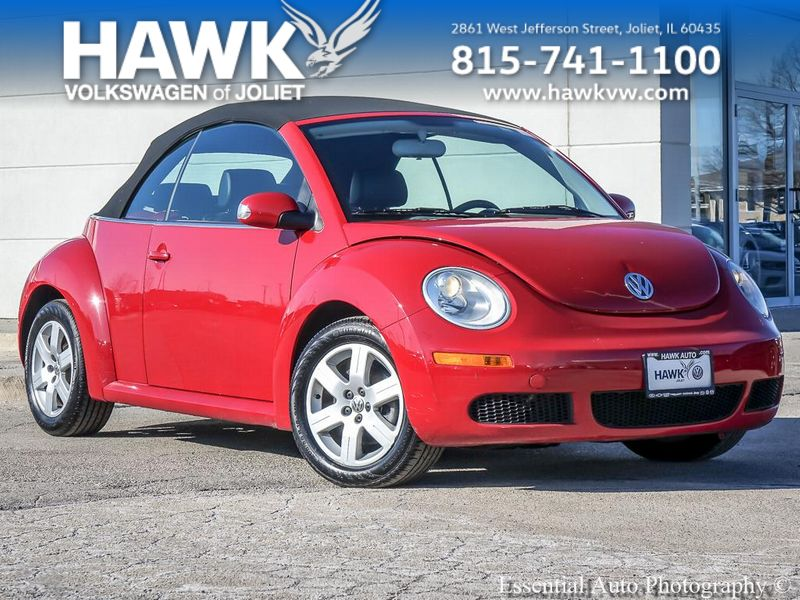 Pre-Owned 2007 Volkswagen New Beetle Convertible