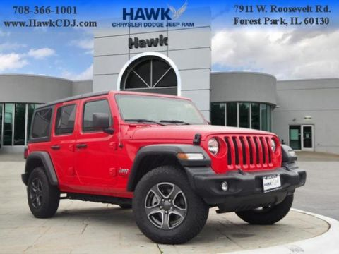 Pre-Owned 2019 Jeep Wrangler Unlimited 4WD Sport S