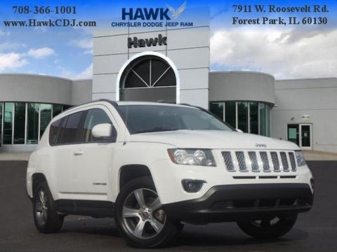 Pre-Owned 2017 Jeep Compass 4WD High Altitude
