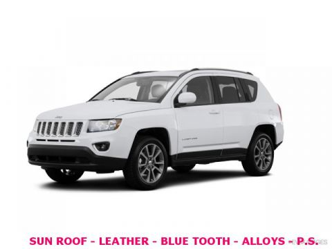 Pre-Owned 2016 Jeep Compass 4wd High Altitude Edition
