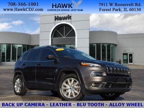 Certified Pre-Owned 2017 Jeep Cherokee AWD Limited