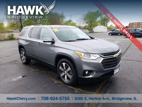 Pre-Owned 2018 Chevrolet Traverse LT Leather