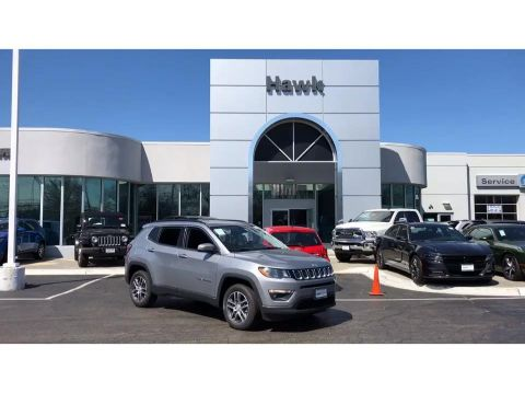 Pre-Owned 2018 Jeep Compass Latitude AWD
