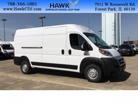 New 2019 RAM ProMaster High Roof 159WB