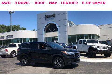 Pre-Owned 2016 Toyota Highlander 4WD XLE